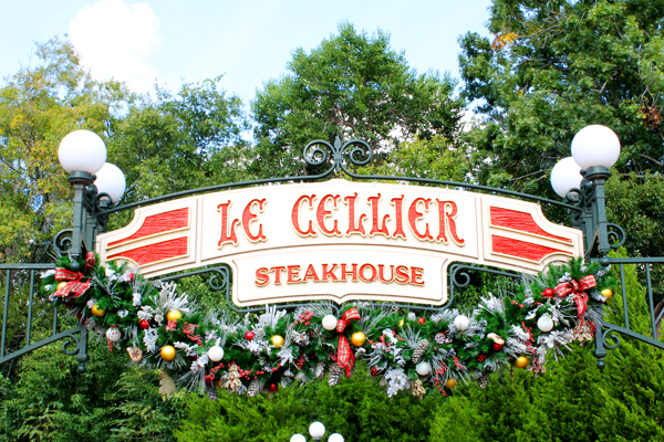 There are better steaks at other Disney World restaurants than at Le Cellier.