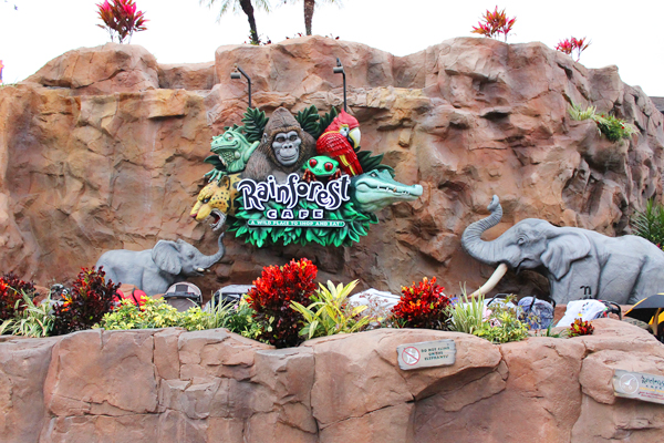 Rainforest Cafe is a Disney World restaurant worth skipping.
