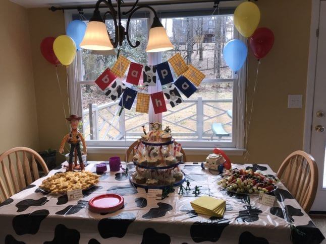 Toy Story Party Dessert Table