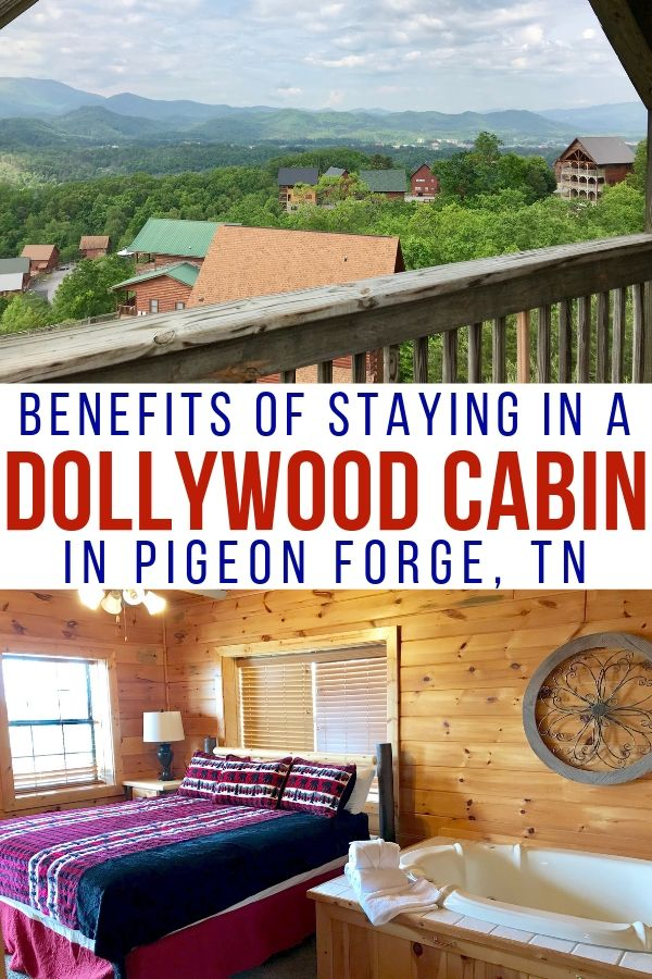 Why stay in a Dollywood Smoky Mountain Cabins? There a plenty of great perks and great views! #dollywood #smokymountains #tennessee #traveltips