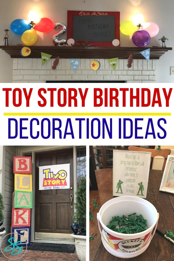 Make your kid's Toy Story dreams come true! Try these easy Toy Story birthday party decoration ideas for your next party planning adventure! #toystory #toystory4 #toystorybirthday #partyplanning