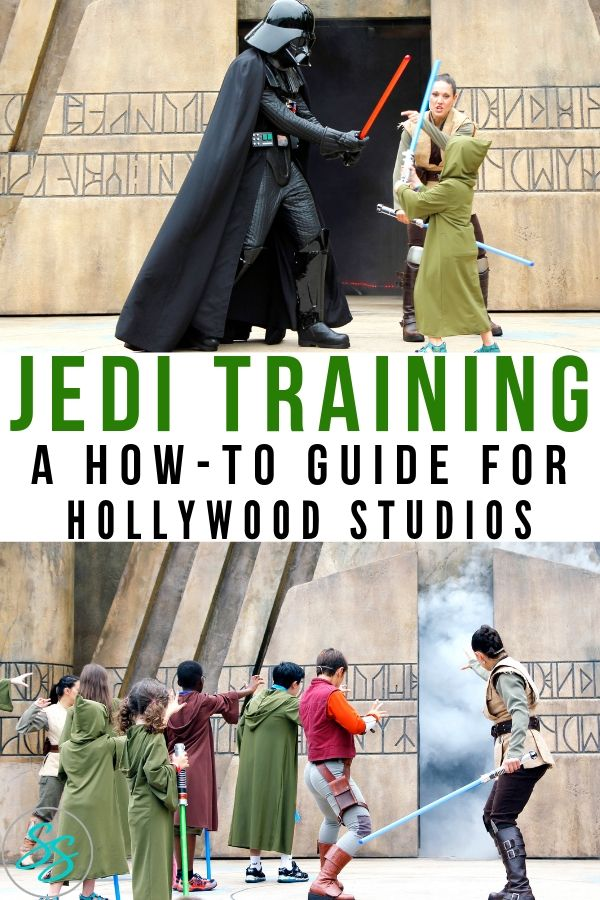 Jedi Training at Hollywood Studios is a blast! Read more about this fun activity included with park admission! #jeditraining #starwars #disneytravel #disneyworld