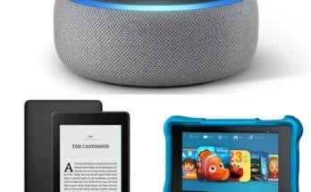 Deals for Amazon Prime Day include Echo Dot, HD Fire Kids Edition, and Kindle Paperwhite