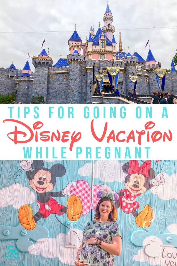Enjoy going to Disney when you're pregnant! Use these tips to plan your vacation and enjoy every moment! #disneytravel #pregnantatdisney #disneybaby #disneymom