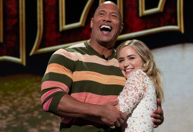 Dwayne Johnson and Emily Blunt star in The Jungle Cruise.