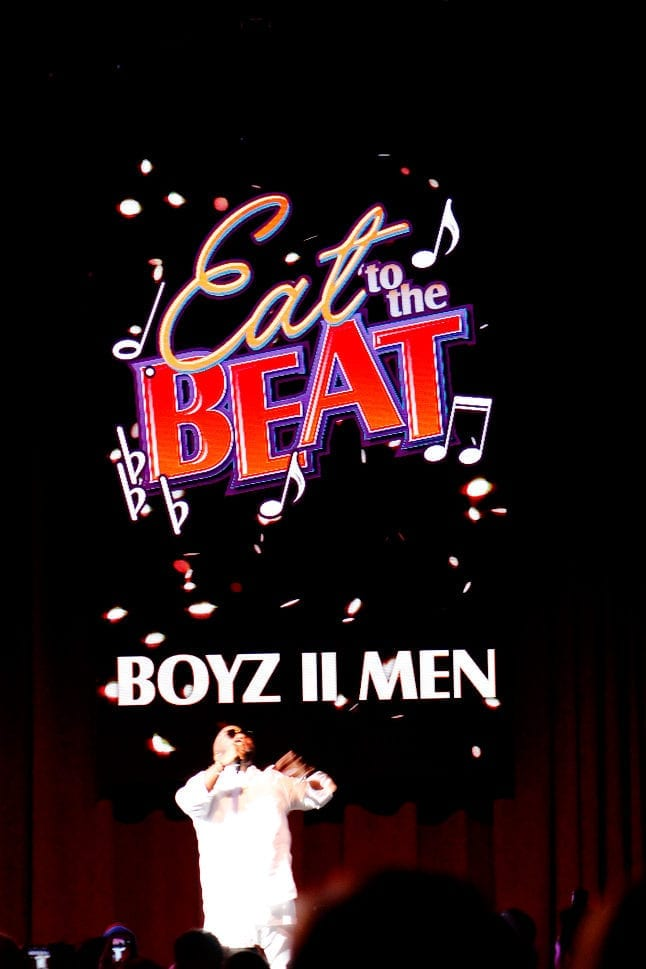 Enjoy acts like Boyx II Men at Epcot Food and Wine Festival