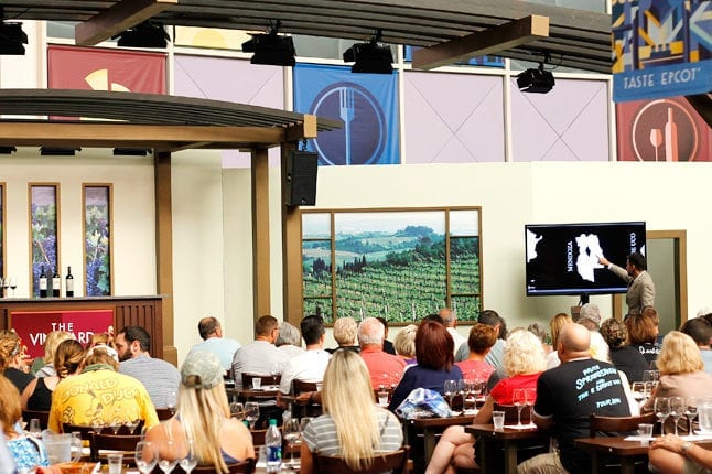 Seminars and experiences are a great way to expand your Food and Wine festival fun.