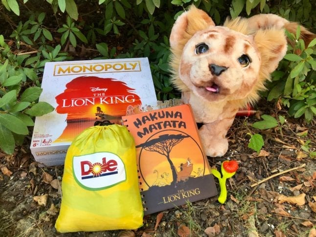 You could win an amazing Lion King prize pack from Dole!