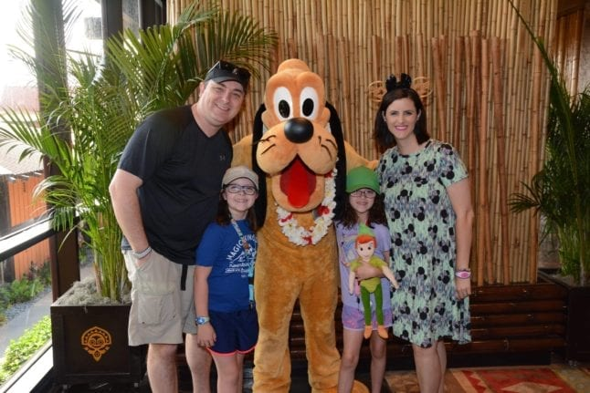 Memory Maker includes photos from restaurants at Disney World.