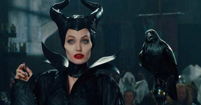 Maleficent is on during Villains Week of Freeform tv.