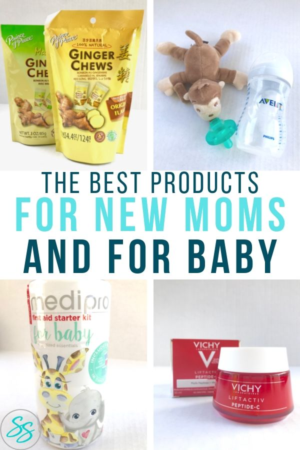 New moms need to know what products are the best! That's why BabbleBoxx created this amazing New Mom BBoxx featuring some of the best products for new moms and baby! #ad #NewMomBBoxx #newmom #babygiftideas