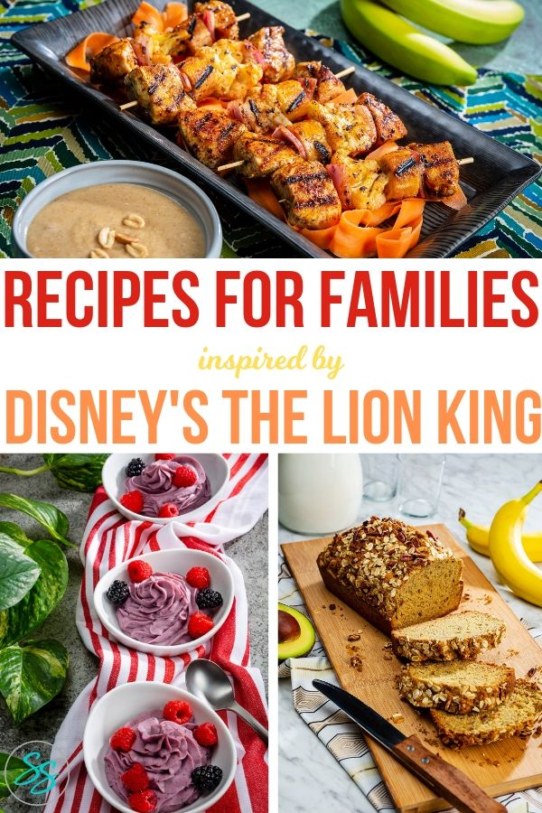 ad Looking for a way to bring the family together? Try these family friendly recipes from Dole inspired by Disney's The Lion King! #recipes #disneylionking #healthyrecipes #family #easyrecipes