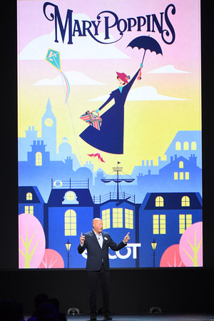 Mary Poppins experience will be new at Disney Parks in 2020!