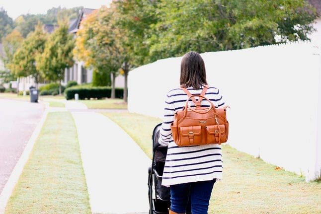 Diaper bag backpacks are great for new moms.