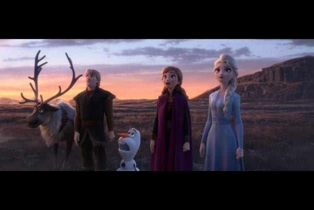 All the original characters are back in Frozen 2.