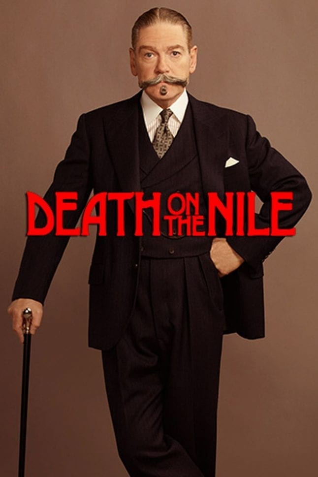 Teaser poster for Death on the Nile