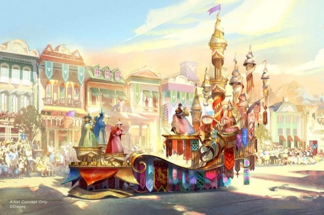 Magic Happens will be a parade that is new at Disneyland this year.