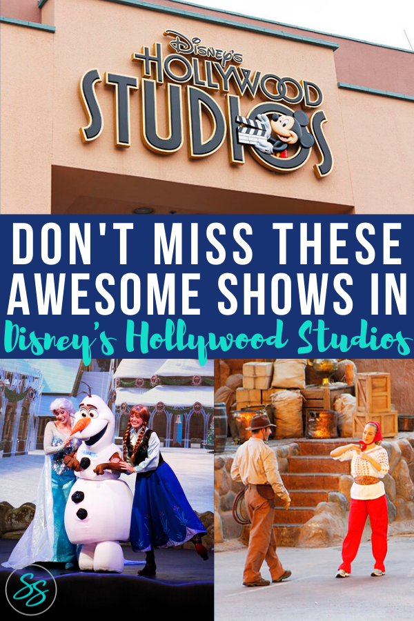 Hollywood Studios has several great shows to see on your next Disney World vacation! Don't miss these awesome shows on your next visit. They're a great break from the elements and all the walking! #disneyshows #hollywoodstudios #disneyworldtips