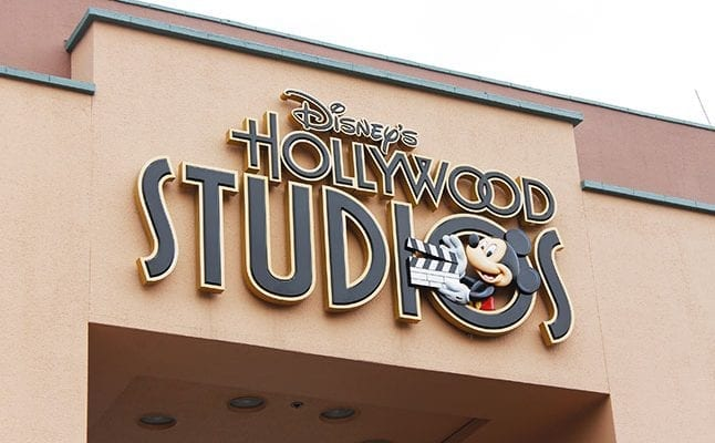 Hollywood Studios Sign in Disney World