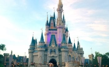Cinderella Castle in the Afternoon at Disney's Magic Kingdom