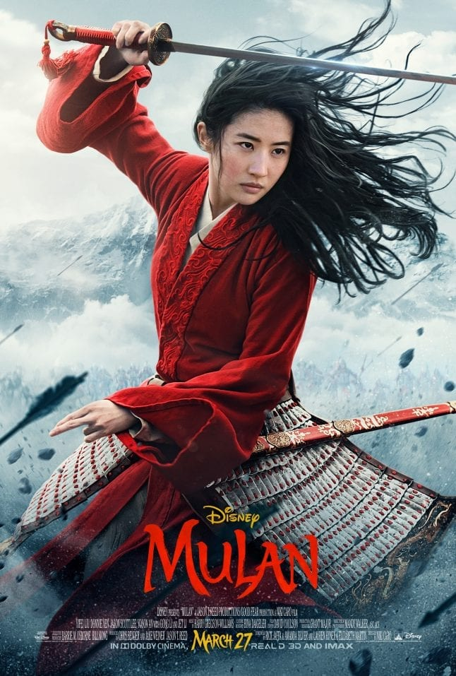 Live action Mulan Movie Poster