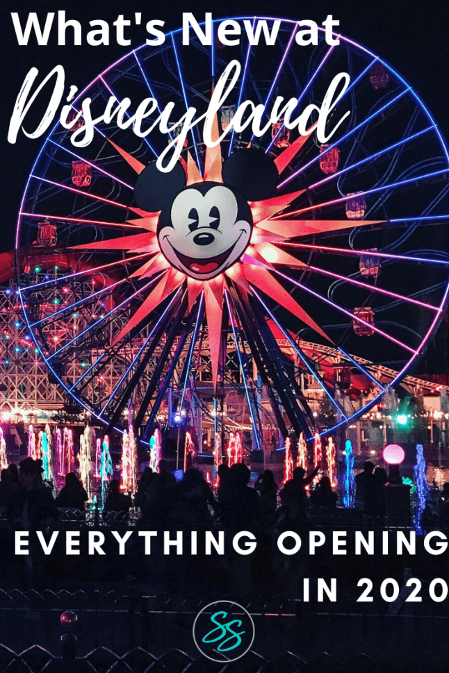 New things are coming to Disneyland in 2020! Find out what's new at Disneyland this year and plan your trip accordingly. New rides, restaurants, and events are happening all year long! #disneyland #disneytravel #disneylandtrip