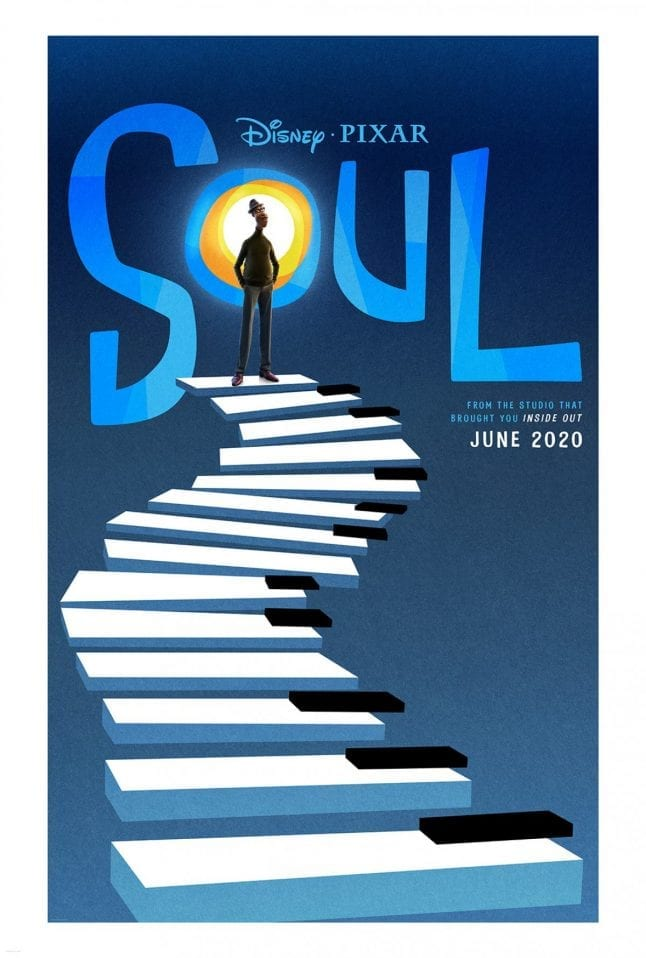 Movie Poster for Soul from Pixar Animation