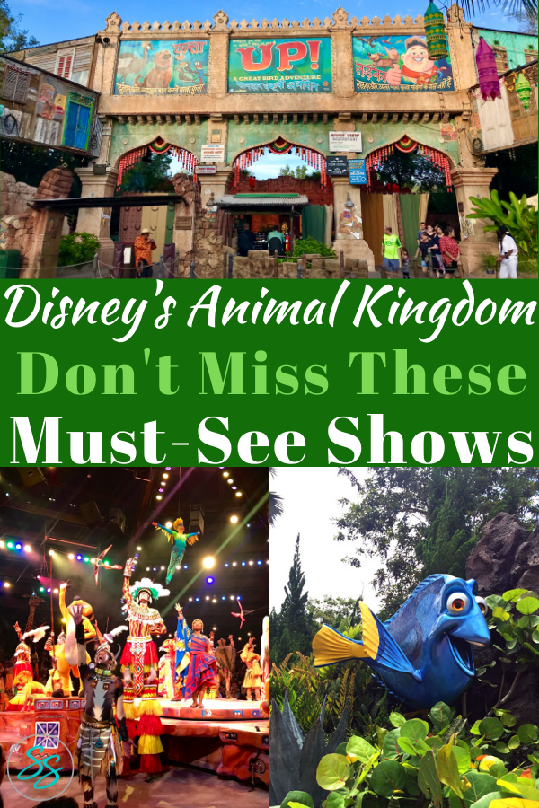 Spend some time off your feet in Disney's Animal Kingdom! Check out these amazing, can't miss shows on your next Disney World vacation! #disneyshows #disneyworld #disneytraveltips