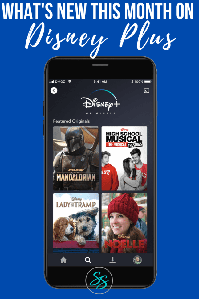 Love watching new shows on Disney Plus? Check out this list of all the new content you can watch! This updated list includes shows and movies being added in April 2020. #disneyplus #whattowatch #newondisneyplus
