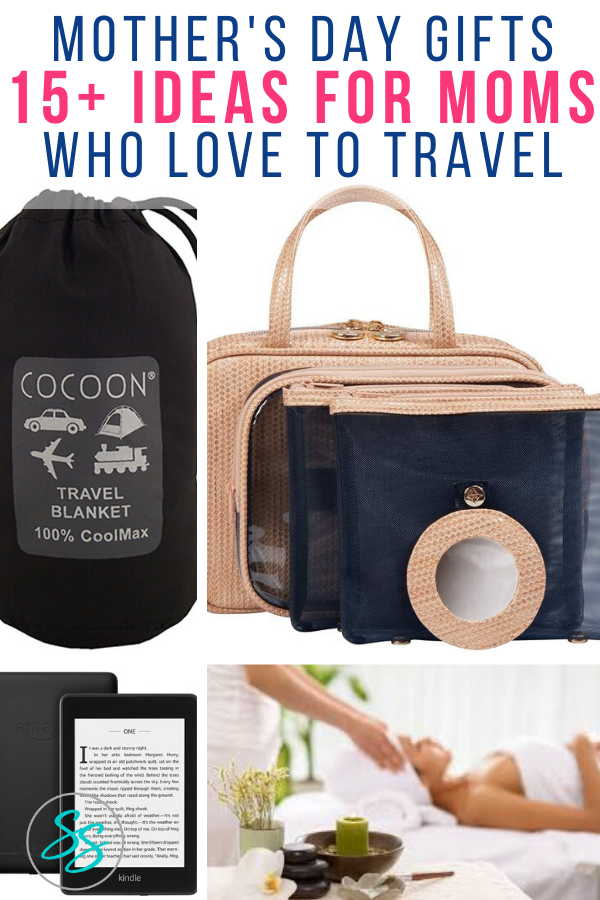15 Mother's Day gift ideas for travel moms. Luxury to budget items are all included! #mothersday #mothersdaygifts #travelinmom