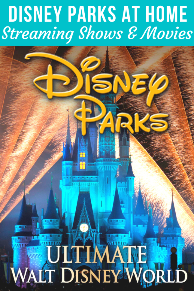 Bring Disney Parks home with this list of what to stream and where to watch shows and movies about Disney! #disneyplus #netflix #disneyparks