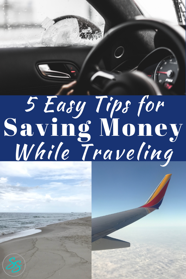 Check out these 5 easy tips for saving money while traveling! #savemoney #traveltips #familytravel