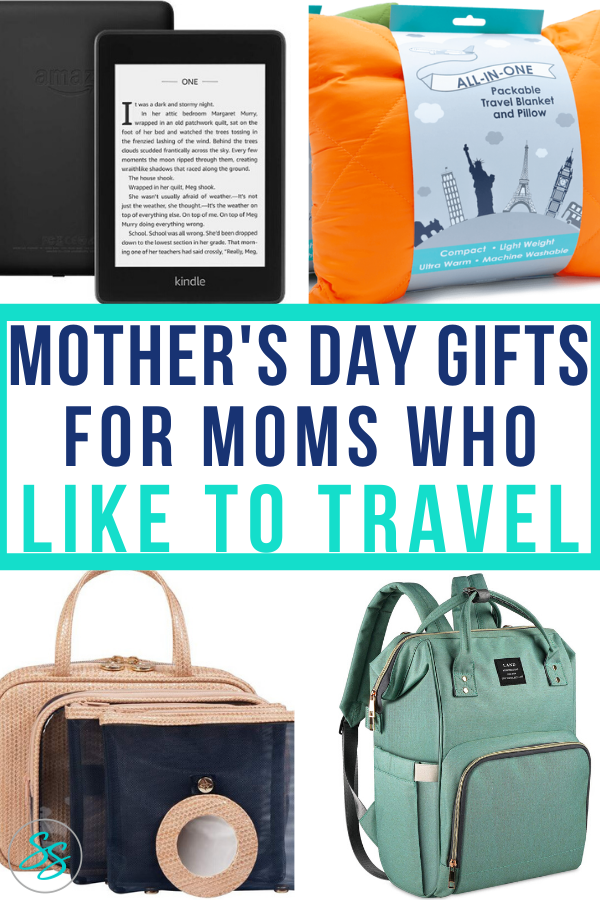 If mom likes to travel, these are the gifts she wants! Gift ideas to cover all budgets are included. #mothersdaygift #travelingmom #mothersdaygiftideas