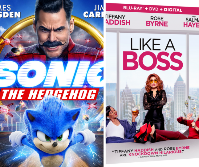 Win a copy of Like A Boss or Sonic the Hedgehog