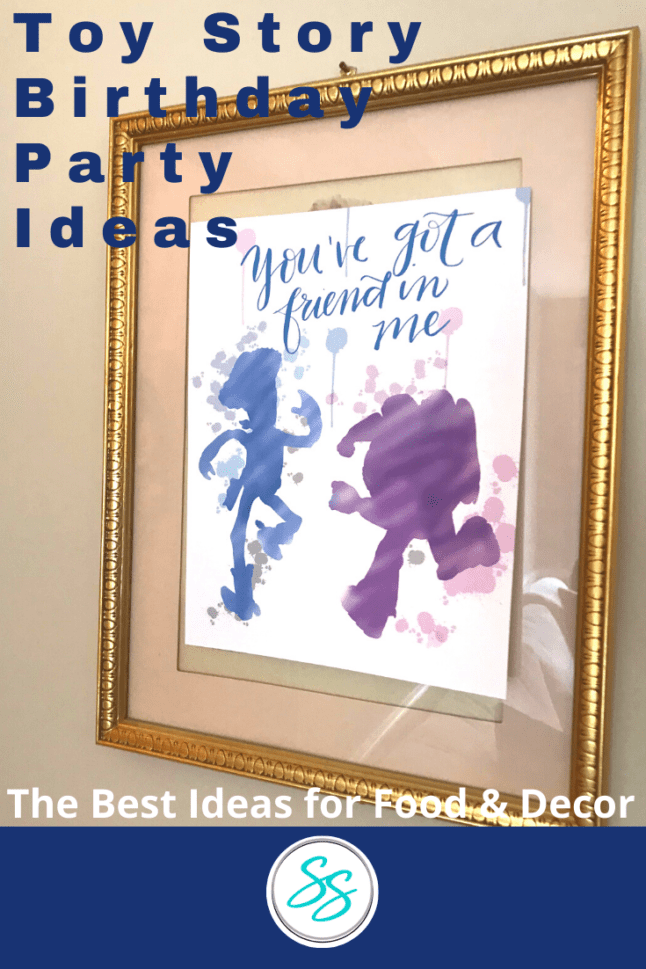Try these simple ideas for your Toy Story party! Decorating isn't hard with these quick ideas that make your party stand out! #toystory #toystorypart #disneypartyideas