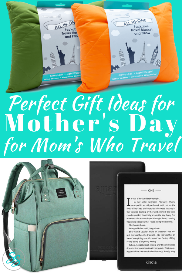 Traveling moms love travel gifts! Check out these great ideas for Mother's Day gifts! #travelingmom #mothersday #mothersdaygift