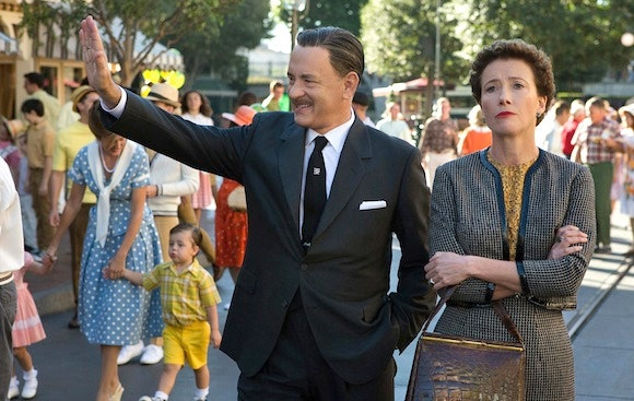 Disneyland scene from Saving Mr. Banks