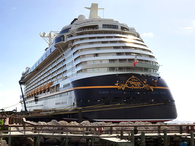 Disney Dream is one of four Disney Cruise Line ships.