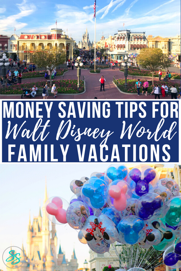 There are plenty of ways to save money on a Disney vacation. These tips are the most crucial and impactful when stretching your dollars. #disneytravel #disneytips #disneyworldtravel