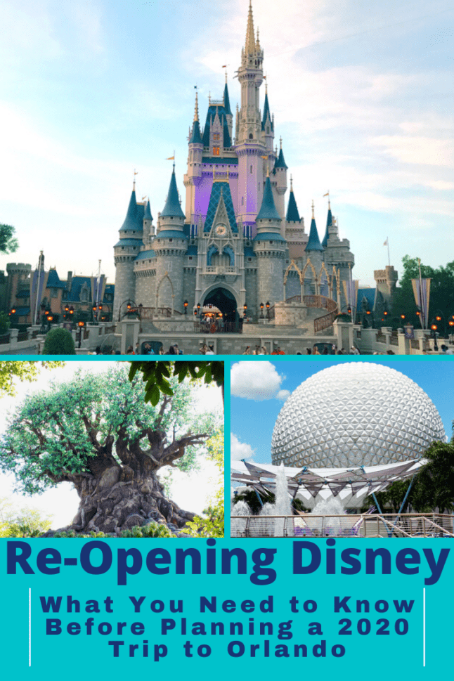 Heads up! Disney World is re-opening soon! What can you expect when you go? Lots of changes! Read about them here. #disneyworld #disneytravel #disneyvacations