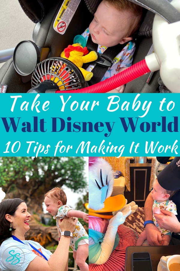 Thinking of a visit to Disney with your baby? Read these tips for visiting Disney with a baby to make the most of your vacation time and money.