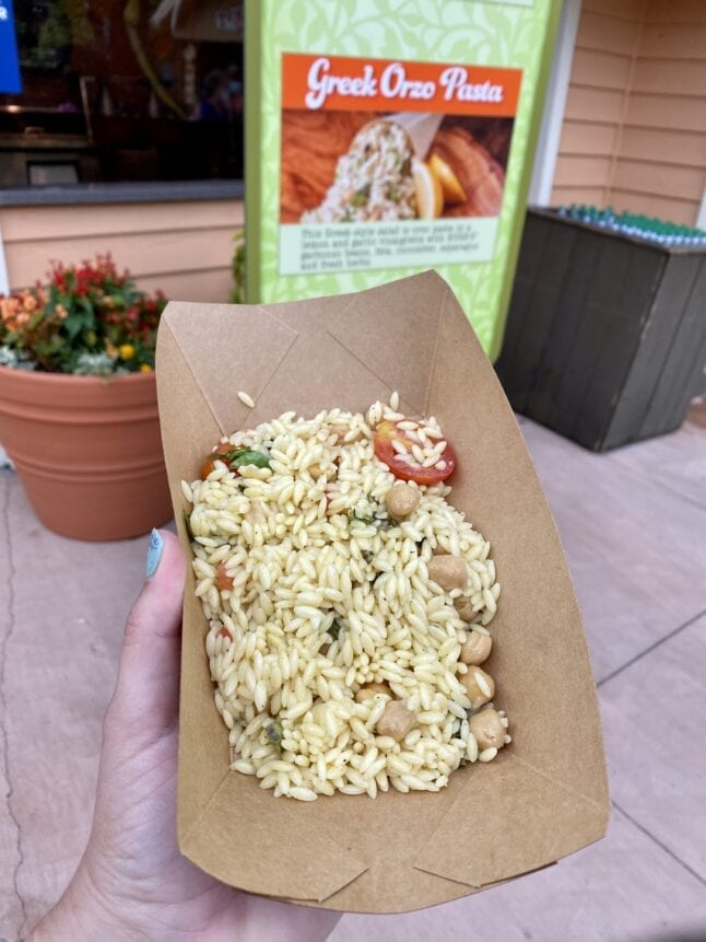 Greek Orzo at Dollywood Flower and Food