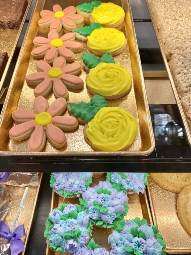 Special cookies for Flower and Food Festival