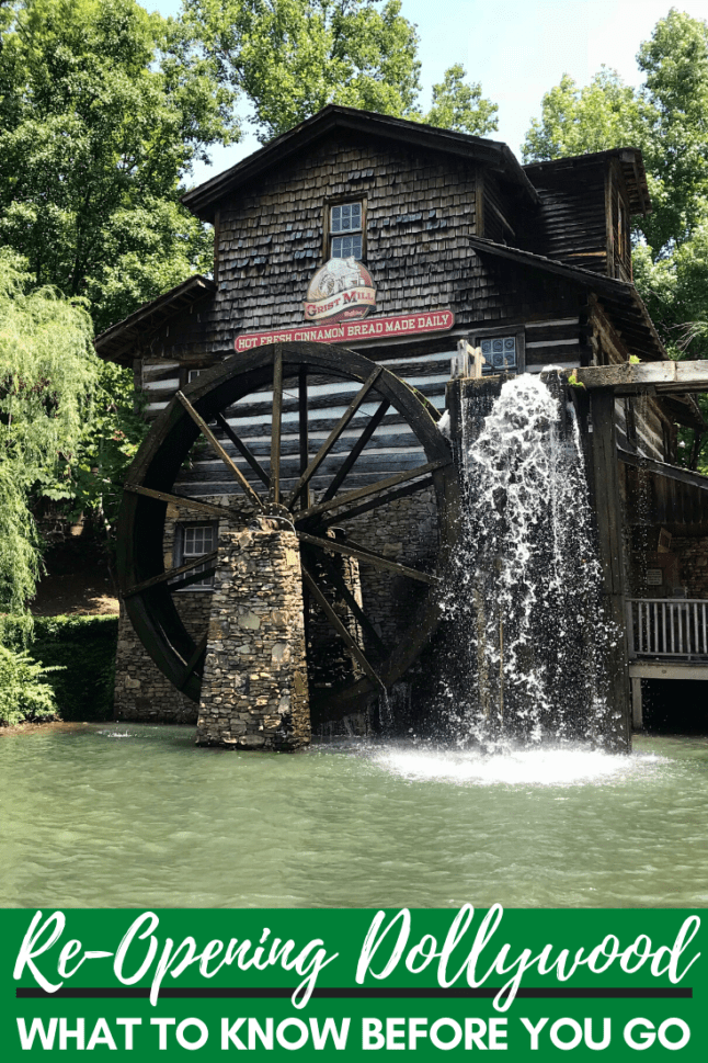 Dollywood will be re-opening to the public soon! Find out everything you need to know about its re-opening process. #dollywood #dollywoodinsiders #visitpigeonforge
