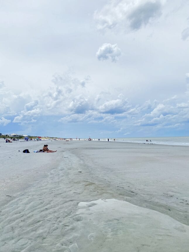 Neptune Beach, Florida is an easy place to practice social distancing.