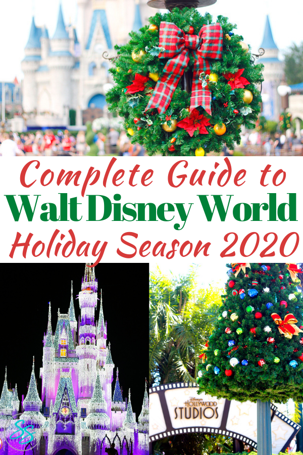 Planning a Disney World trip for Christmas? Read this first to find out what you can do during the holidays in 2020! #disneychristmas #holidaytravel #christmasatdisney