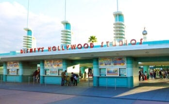 Entrance to Hollywood Studios at Disney World