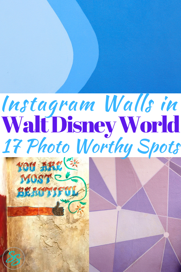 What are the Instagram Walls of Disney? Where do you find them? I've got all the info you need in my post about where to find the Instagram Walls of Disney World! #disneytravel #disneytips #instagramwalls #wallsofdisney #disneywalls #instagramphotos