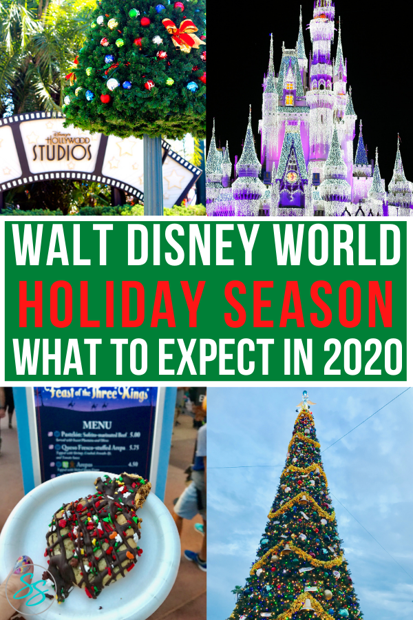 Planning a Disney World trip for Christmas? Read this first to find out what you can do during the holidays! #disneychristmas #holidaytravel #christmasatdisney