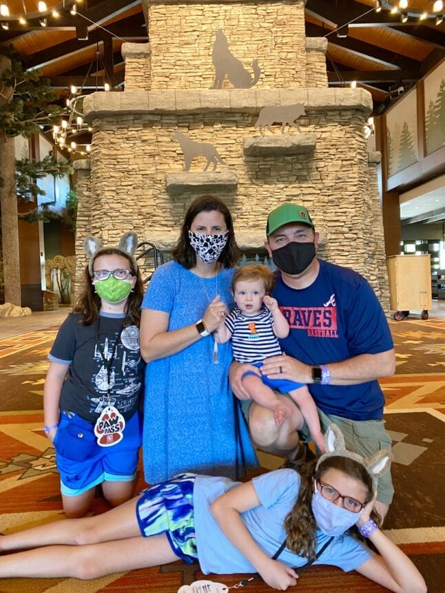 Our family enjoyed our time at Great Wolf Lodge.